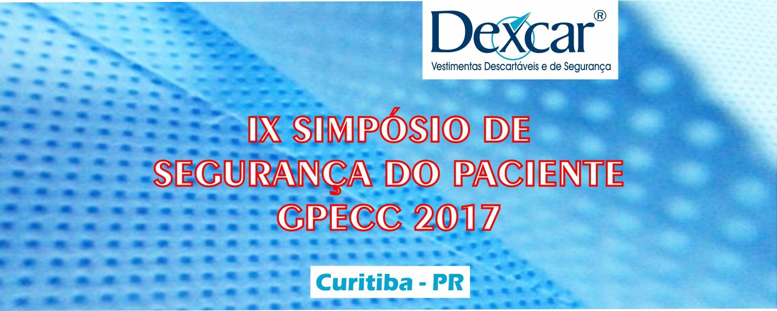 DEXCAR NO IX SIMPÓSIO DE SEGURANÇA DO PACIENTE
