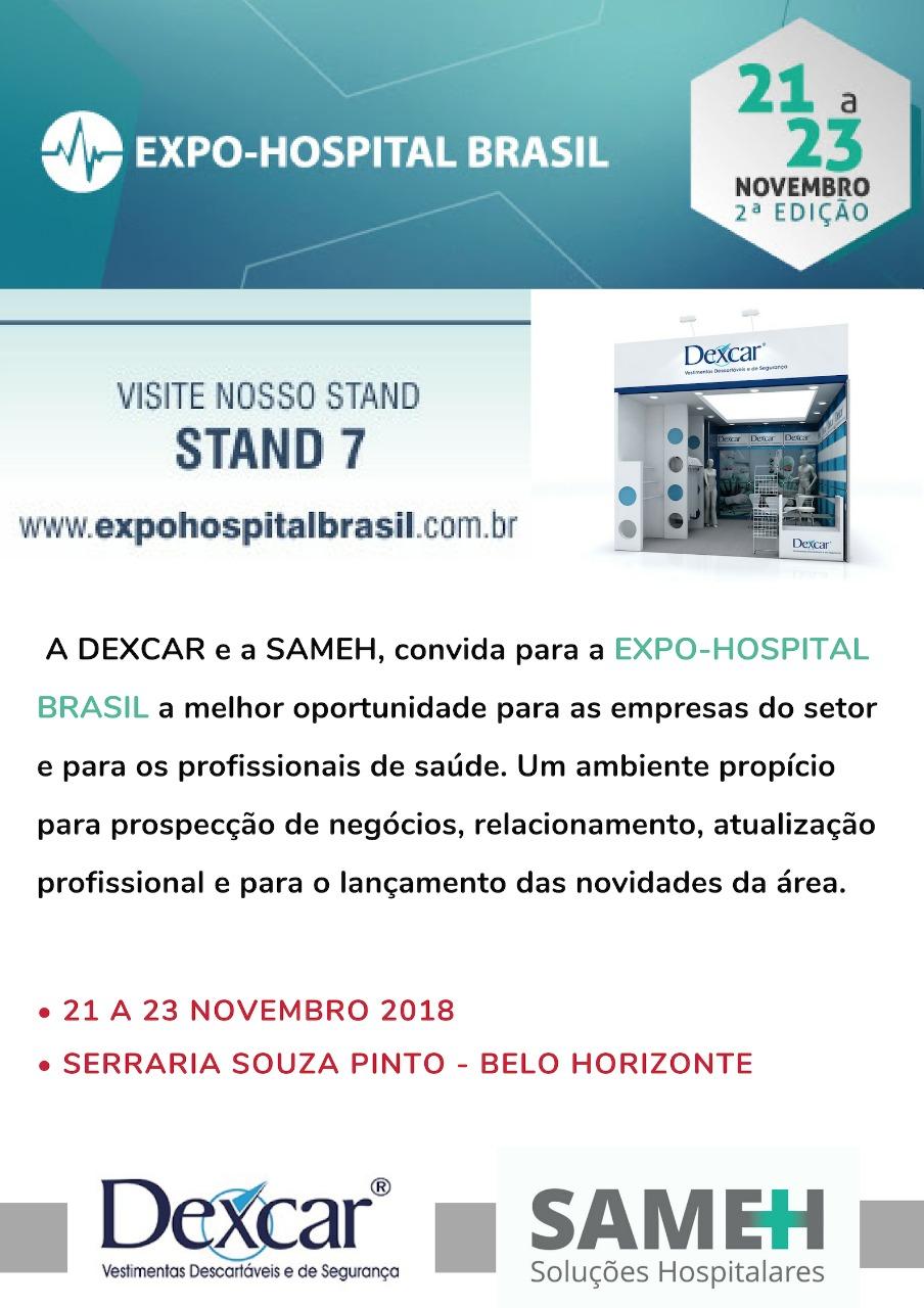 Expo Hospital Brasil 2018